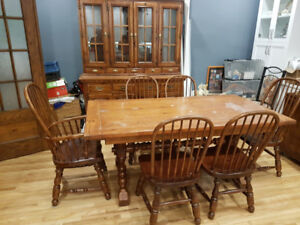 RARE Antique FULL Dining Room Set (a MUST SEE!!!)-$1,950 or NBO