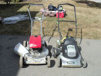 lawn mowers, trimmers,ad snowblowers