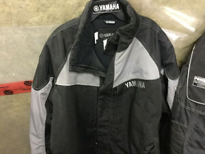 Yamaha snowmobile jacket and pants
