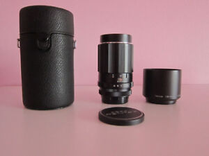 Canon EOS EF: Super-Takumar 150mm f4 Manual Focus Lens