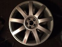 "Audi TT MK1 18"" Genuine Alloy Wheel x1"