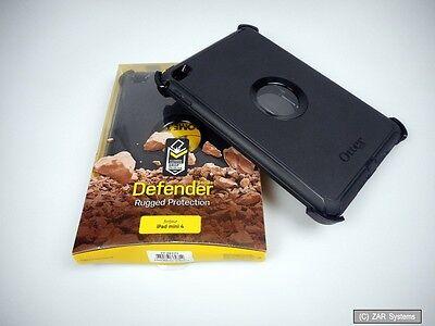 OtterBox 77-52771 Defender Case, Schutzhülle für Apple iPad Mini 4Schwarz