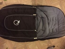 Icandy peach footmuff excellent condition