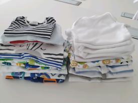 Baby boy newborn clothes.