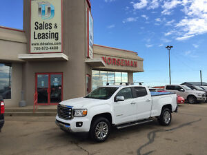 2015 GMC Canyon SLT Leather/Nav/Crew $35987