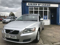 2008 Volvo V50 1.8 S 1 former keeper, 72,000 miles, SERVICE HISTORY, HPI CLEAR,