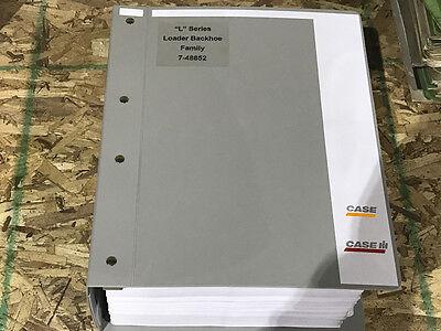 Case 580l590l580 590 Super L Loader Backhoe Service Manual Parts Catalog