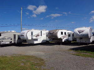 Amazing Selection of Previously Enjoyed Fifth Wheels