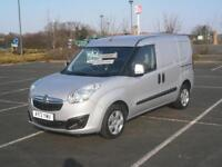 2013 13 VAUXHALL COMBO SPORTIVE 2000 1.3 CDTi 16v 90PS L1H1 PANEL VAN IN SILVER