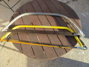 """2 BOW SAWS - 30"""""""