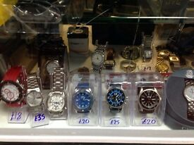 Men and Womens watches (new/used)