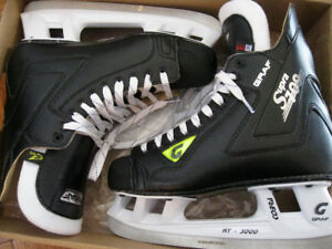 Graf Supra 709 Men's 10.5 Hockey Skates