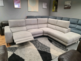 Brand new Furniture willage Corner sofa power recliner