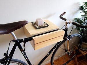 Porte-vélo flottant - Floating bike rack