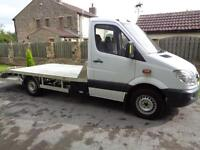 2011 (61reg) Mercedes-Benz Sprinter 313CDI Alloy Recovery Truck, Car Transporter