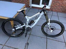 Transition TR450 downhill bike Fox 40, Sram x0!