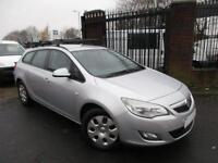 2011 61 VAUXHALL ASTRA 1.7 EXCLUSIV CDTI ECOFLEX 5D BHP DIESEL 1 COMPANY OWNER