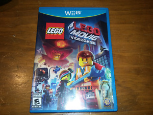 The lego movie video game for wiiu