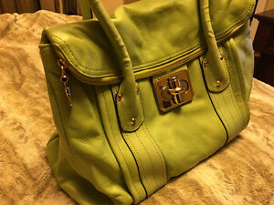 Leather Bag by B Makowsky Excellent Condition!