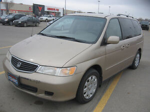 WELL MAINTAINED -MOST OPTIONS -1999 HONDA ODYSSEY EX 7/P MINIVAN