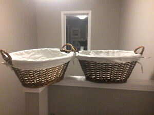 Baskets lined x2 London Ontario image 1