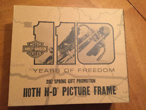 110 anniversary Harley Davidson picture frame NEW