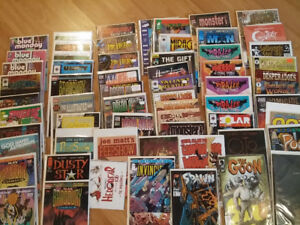 Lot of 130 Independent INDY Comic Books - NOT MANY ARE IMAGE