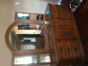 Bed frame, night tables and 2 dressers Stratford Kitchener Area image 6