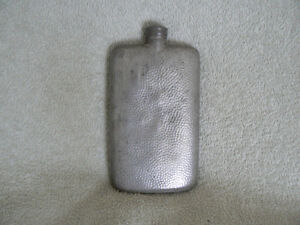 James Dixon and Sons Vintage Pewter Flask West Island Greater Montréal image 1