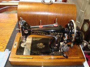 VINTAGE GERMAN HAID & NEU SEWING MACHINE