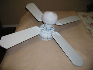 42 Inch White Ceiling Fan
