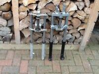 Pit bike forks