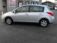 2010 NISSAN VERSA WAGON  LOADED  AUTO  SAFETY & E-TEST INCLUDED