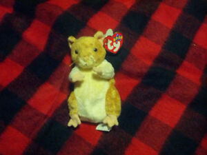 Ty Beanie Baby - Pellet the Hamster (Year 2000)