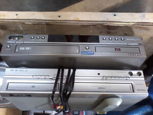 Have 2 DVD/VCR combos