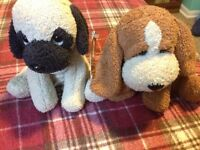 Two Russ dogs