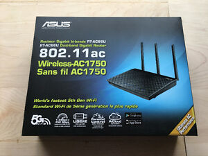 ASUS RT-AC66U Dual-Band Wireless-AC1750 Gigabit Router