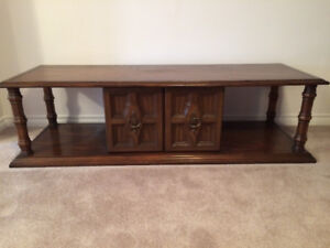 COFFEE TABLE / TV STAND with STORAGE