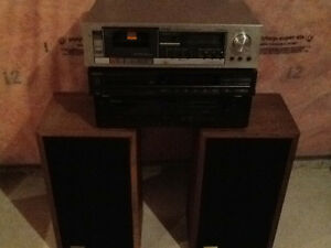 Audio Components and Speakers for Old Audio Buff
