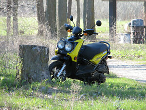 YAMAHA BWS125 YELLOW