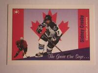 Sidney Crosby Juniors card SOLD PENDING PICKUP