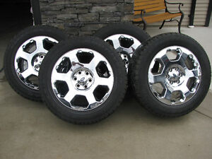 "20"" FORD F-150 RIMS & TIRES 6 on 135mm $1500 OBO"