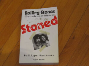 ROLLING STONED/ 20 ANS CONFIDENCES/PHIL.MANOEUVRE