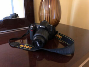 Nikon D90 DSLR Camera + AF-S DX 18-55mm f/3.5-5.6G VR