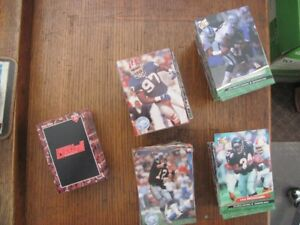3 NFL Football Card sets