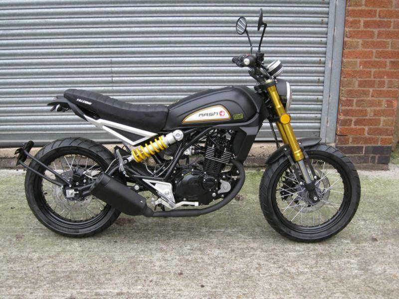 Mash Falcone 125cc efi Eu4 Brand New £300 off 1 only at this price | in  Leicester, Leicestershire | Gumtree