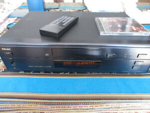 TEAC CD-P400 High End Single CD player transport optical output