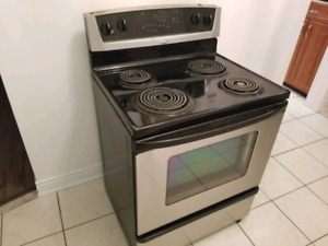 Whirlpool Electric Stove - working condition