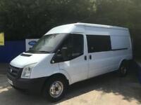 2010 Ford Transit 2.4TDCi Duratorq ( 115PS ) 350L ( Med Roof ) LWB Van