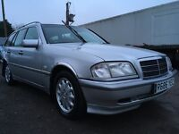1998 Mercedes C180 Estate MOT July CREDIT &a DEBIT CARDS ACCEPTED